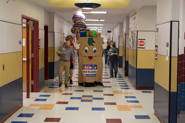 H-E-B Excellence in Education finalist