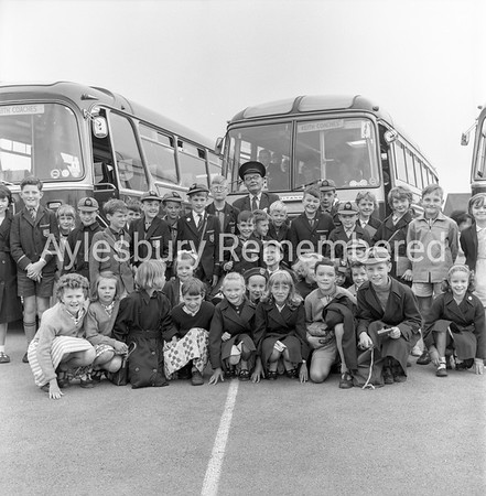 Broughton County Primary School trip, June 1963