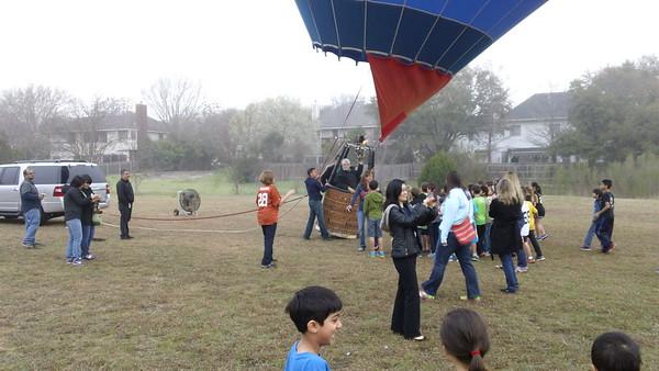 3-13-15 Hot Air Balloon Launch