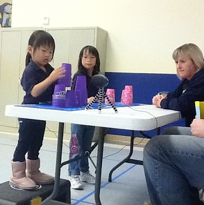 Cheney Elementary Cup Stacking Competition