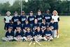 1995 BMS Lady Wolverine softball team