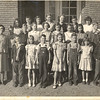 Enigma School, 4th Grade class, Ms. Powell (?); Carolyn C. Outlaw, center row, 4th strudent from left (Courtesy of  Billy Outlaw) (Identifications requested; send responses to: berriencountyga@alltel.net)
