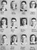 Poplar Springs 1953 8th Grade Class from 1953 yearbook.