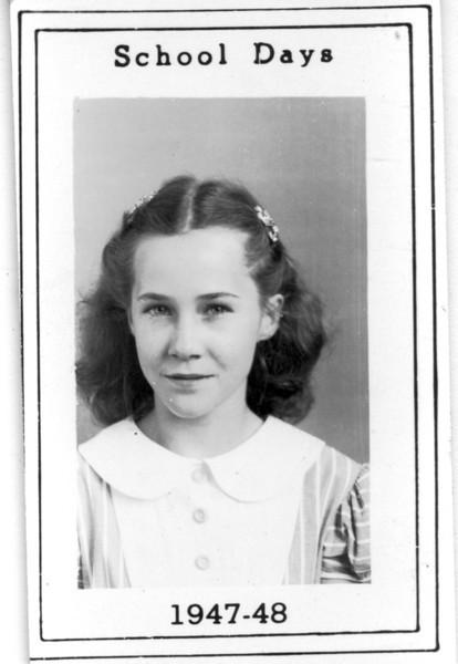 Poplar Springs School, 1947-48