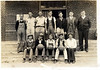 Poplar Springs School Boys Basketball Team 1934. Photo courtesy of George Rowan.
