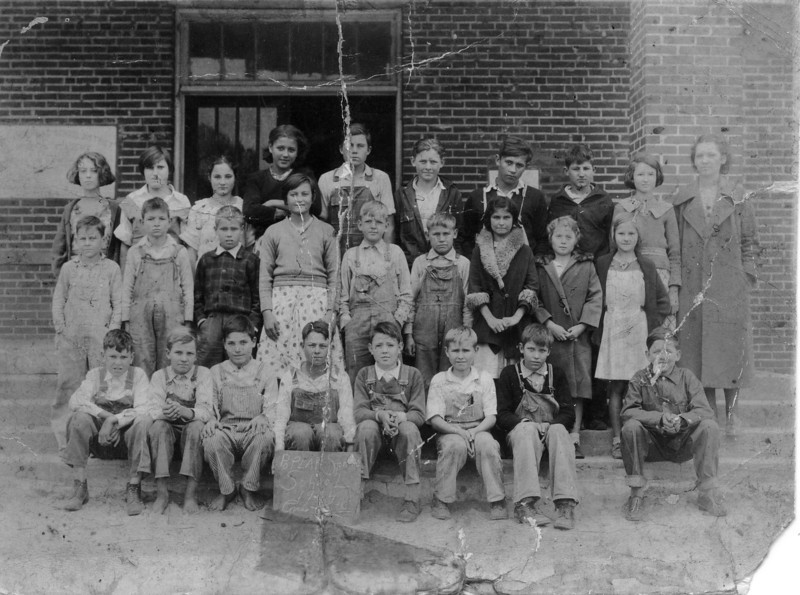 1934 5th grade Poplar Springs, Identifications needed.
