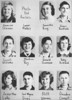 Poplar Springs 1953 Freshmen Class from the 1953 yearbook.