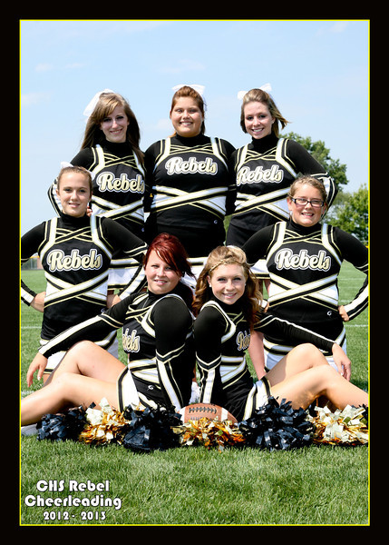 Crestview Cheerleading Fall 2012-2013