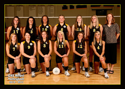 Crestview Volleyball 2012-2013