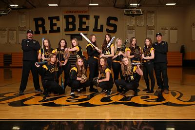 CHS Lady Rebels Softball 2016