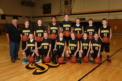 CMS 7th Grade Boys Basketball 2015-2016