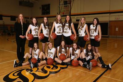 CMS 7th Grade Girls Basketball 2015-2016
