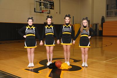 CMS 8th Grade Basketball Cheer 2015-2016