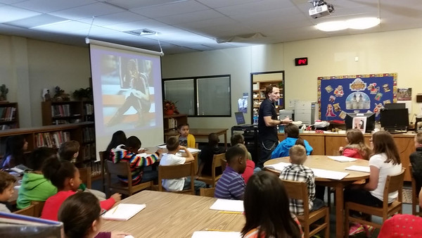 11-17-2014 Author visits library