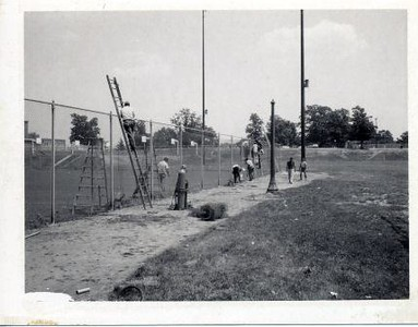 Men Working on Fence (00507)
