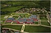 Postcard Aerial View of E.C. Glass High School II (05025)