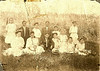 Avera Mill School 1908, located near Avera Mill Pond, east of Nashville. Notations on back of photo, 'Avera Mill School 1908, E. E. Simmons (or Sirmons), teacher. Sallie Jane Brown, 4th front left, front. (Courtesy of Bobbie Gaskins; her grandmather was Sallie Brown)