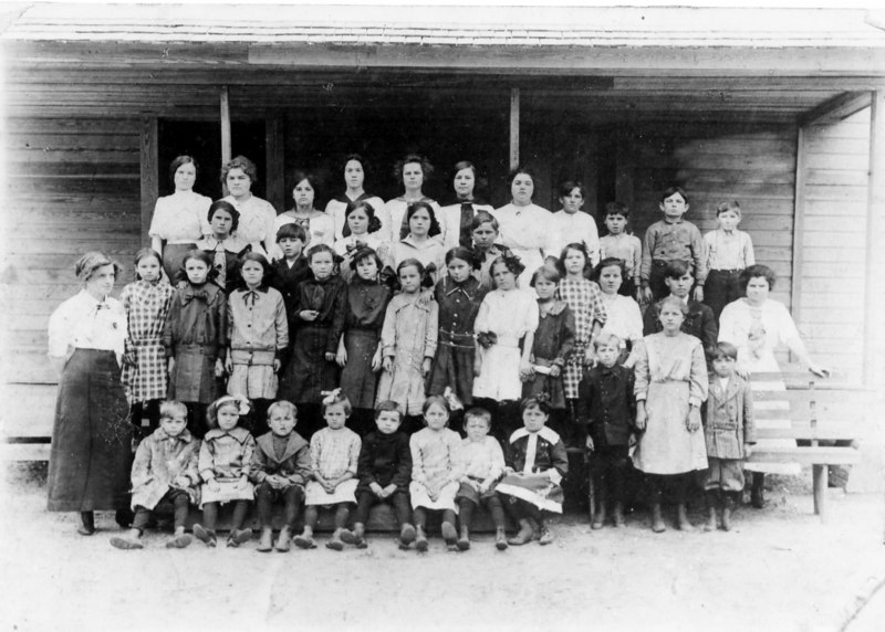 Griffin School near Alapaha probably about 1910-1920