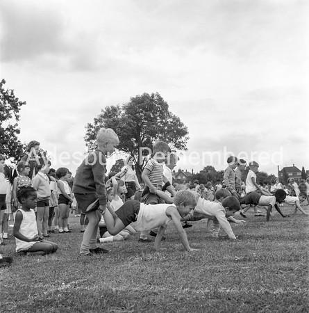 Elmhurst County Infant School sports, July 1968