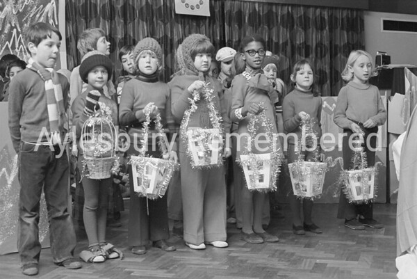Elmhurst County Infant School concert, Dec 1975