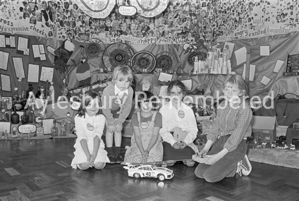 Environmental Exhibition, Elmhurst Infant School, July 1979