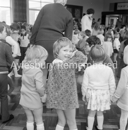 Elmhurst County Infant School, Jan 1970