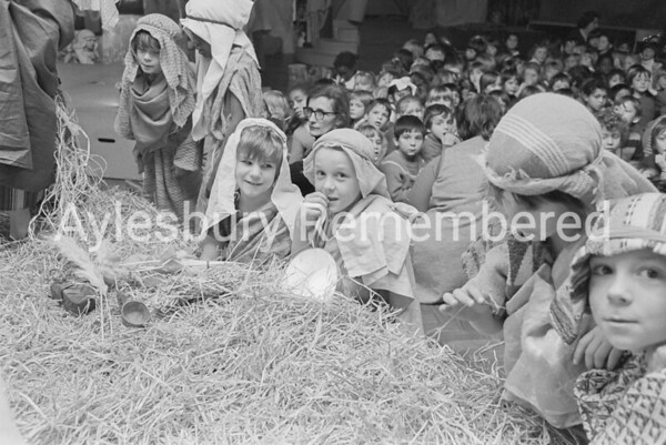 Elmhurst County Infant School nativity, Dec 1974