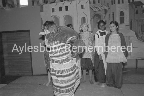 Taming of the Shrew play at Elmhurst County Junior School, Dec 1980