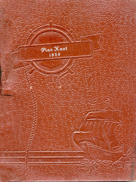 "Enigma High School Yearbook, ""Pine Knot"" 1949-1950"