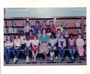 Enigma School - 1984-85