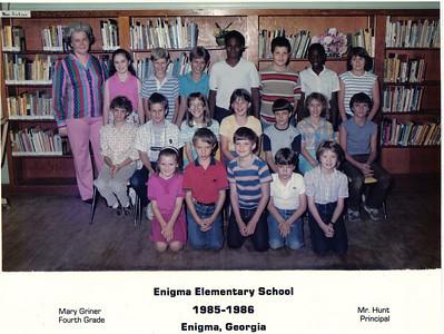 Enigma School - 1985-86