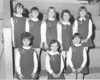 1968-69 Enigma School cheerleaders<br /> <br /> The Berrien Press, page 3, January 30, 1969<br /> Photo caption:<br /> ENIGMA ELEMENTARY CHEERLEADERS – Leading the cheers for Enigma, left to right, are:  Front, Connie Culpepper, Lisa Barnes, Lynn Williams; back row, Phyllis McMillan, Gail Williams, Laurie Baker, Teresa Barnes and Elaine Guess.