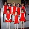 Enigma Cheerleaders, January 1969