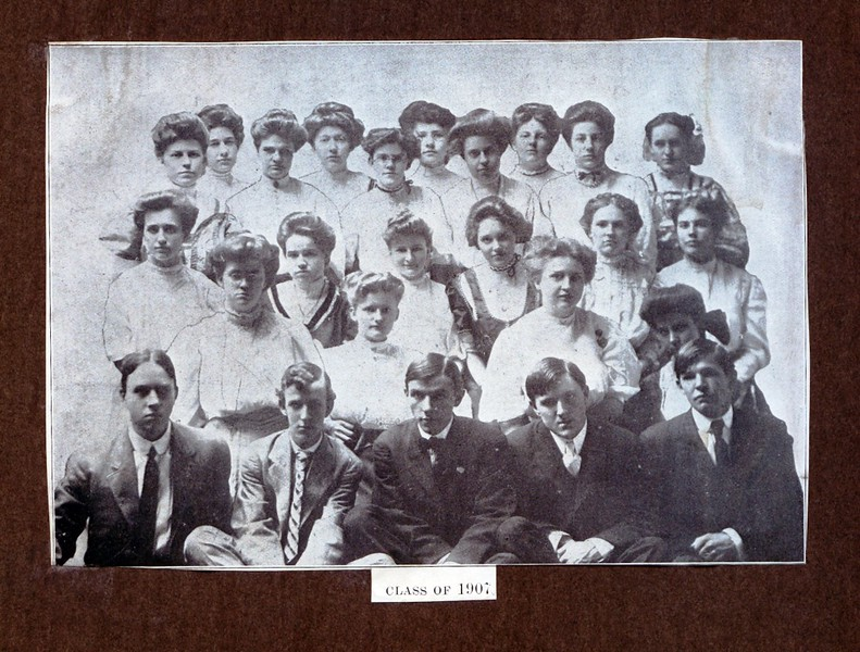 Lynchburg High School Class of 1907 (07218)