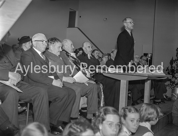 Opening of Grange County Secondary School, Oct 4th 1954
