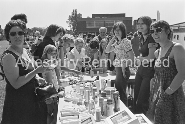 Grange School fete, June 1977
