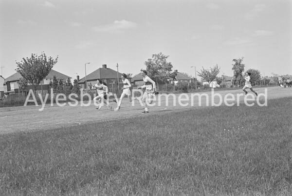 Grange School sports, June 1977