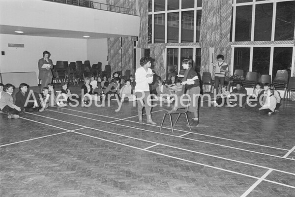 Auditions for National Youth at Grange School Jan 1985
