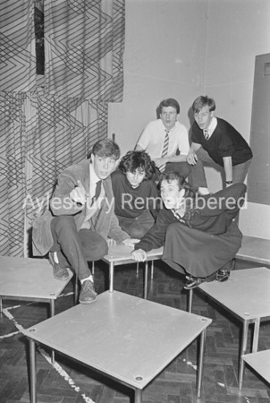 Our Day Out play at Grange School, Dec 1987