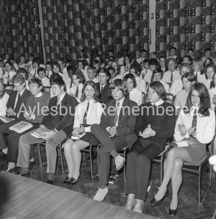 Grange School, Oct 7 1970