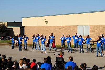 Hardeman Elementary TAKS Rally