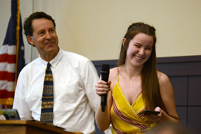 "Leander High School senior Kaley Jones, recognizing Gregory Shaw: ""Mr. Greg has been one of the most influential people in my life, even if I have only known him for two years. I first met him my junior year when we realized he has known my family since I was young. From that point on, I can confidently say I have talked to him almost every school day possible. Mr. Shaw is one of those people that can talk for ages about any subject imaginable and he inspires me everyday to learn about the world, no matter what the topic may be. His passion to teach is unwavering and I could not ask for anything more in a mentor. He has always been there for me and other students, making me believe his job description does not do justice to the time and effort he puts forth. I would not be the person I am today without Mr. Shaw's guidance."""