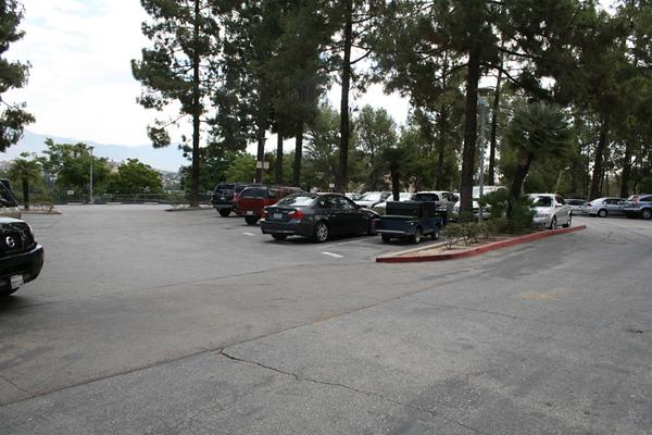 Parking Lot View #2