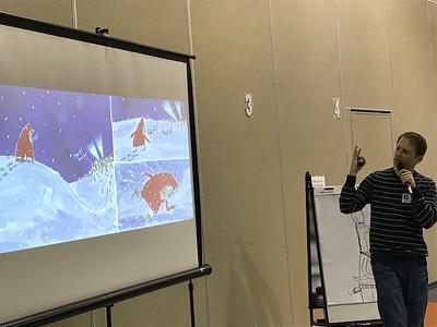 Author Matt Cordell Speaks to Students