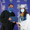 Diploma Distribution Celebration for the Class of 2020 at Jose Marti MAST 6-12 Academy on June 18, 2020