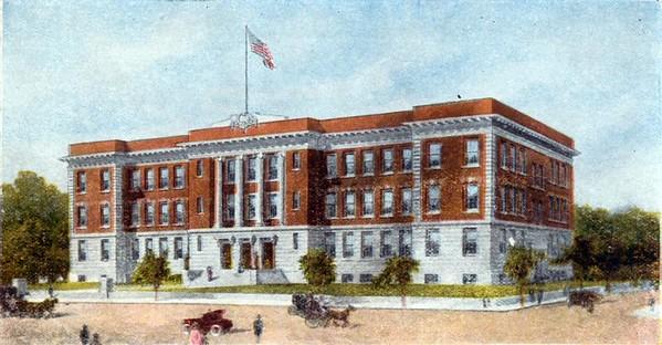 Lynchburg High School on Park Ave II (07188)