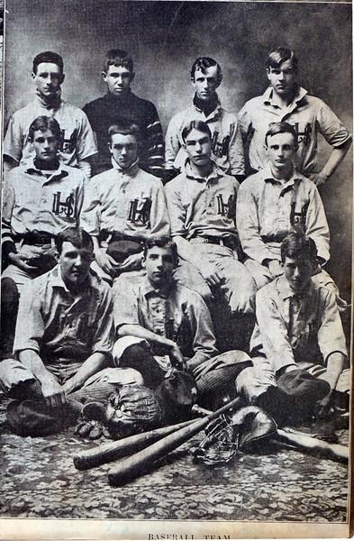 Lynchburg High School Baseball Team, 1906  (09579)