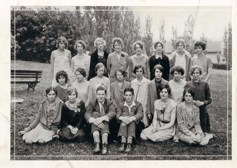 1920 Class of Lynchburg High School  (07228)