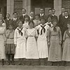 Students on the Steps of Lynchburg High School II (07192)
