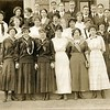 1913 Students on the Steps of Lynchburg High School IV (07194)